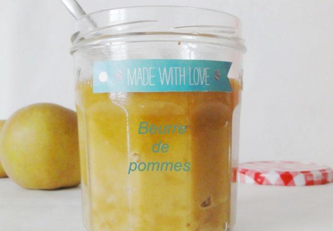 Beurre de pommes sirop d'érable