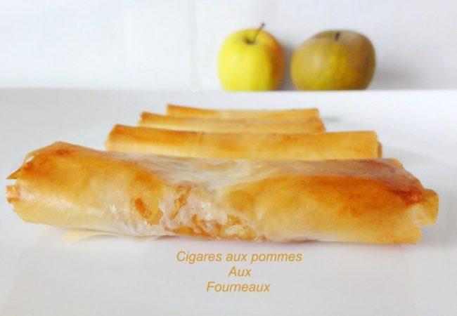 Cigares aux pommes