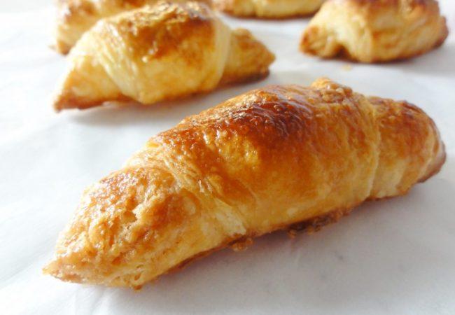 Croissants jambon fromage sans béchamel