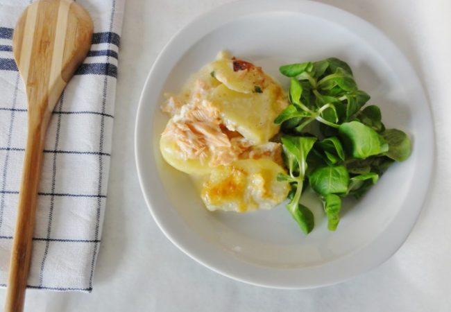 Tartiflette saumon reblochon