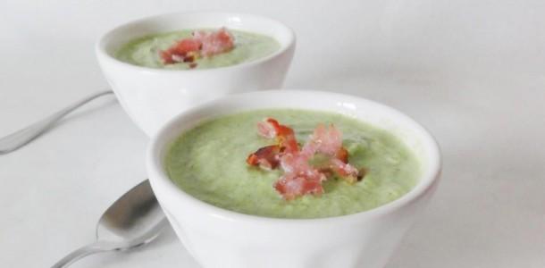 Velout de brocolis au boursin aux fourneaux - Cuisiner brocolis surgeles ...
