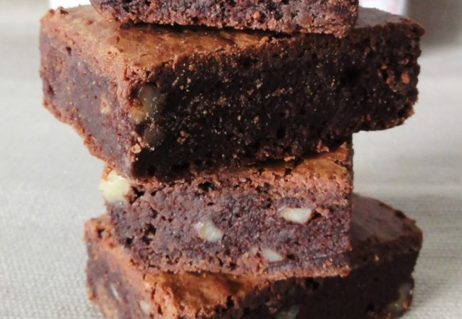 Brownie très fort en chocolat