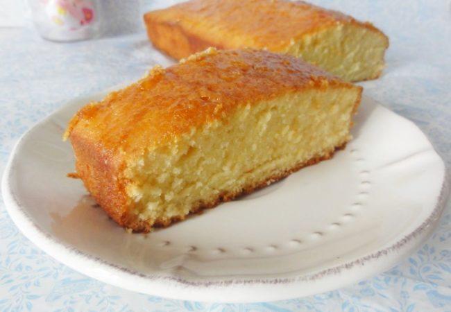 Cake imbibé à l'orange