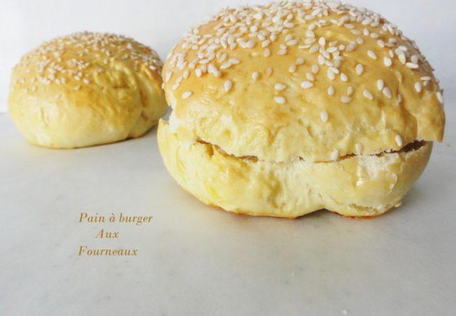Pain à burger maison