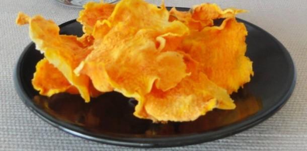 chips de patate douce au four aux fourneaux. Black Bedroom Furniture Sets. Home Design Ideas
