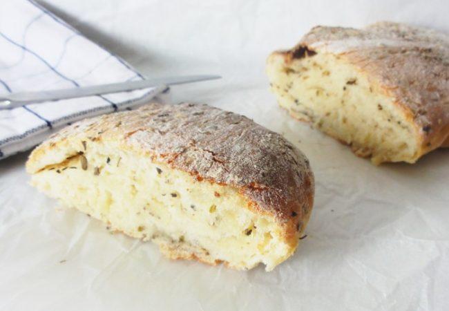 Ciabatta maison pain italien