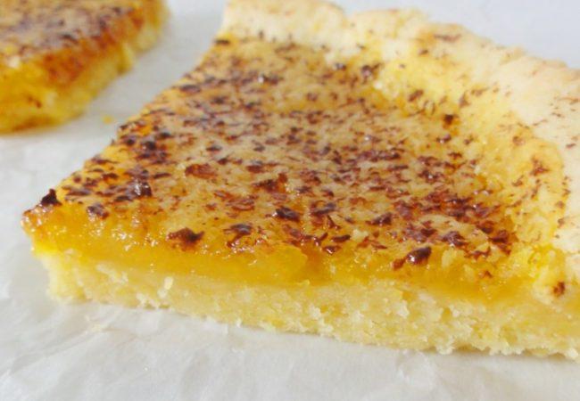 Tarte citron bergamote