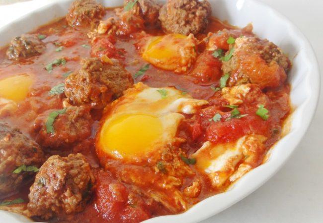 Kefta boulettes en sauce marocaine