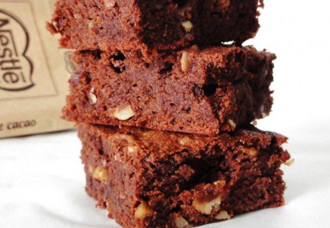 Brownies fondants…encore et toujours!