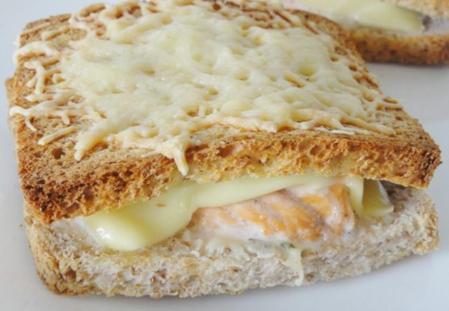 Croque-Monsieur saumon Boursin