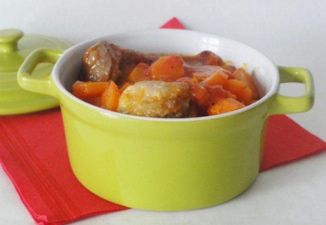 Sauté d'agneau relevé au curry