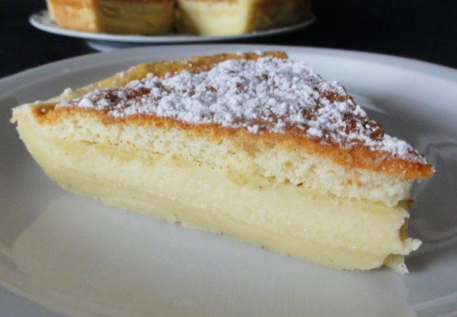 Gâteau magique de base à la vanille