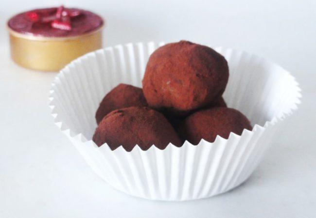 Truffes au chocolat noir de Pierre Hermé
