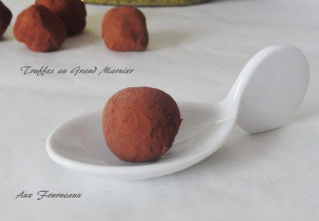 Truffes au chocolat Grand Marnier