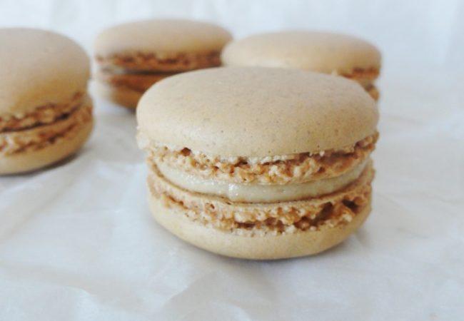 Macarons à la vanille de Pierre Hermé