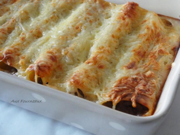 Cannelloni farci  viande de bœuf