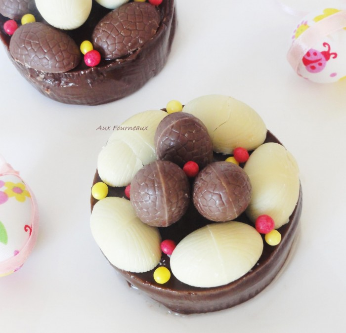 Nid de Paques au chocolat