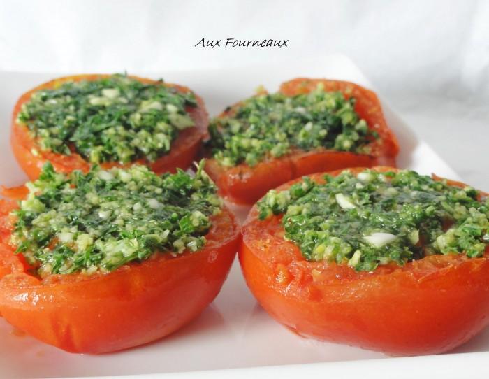 Tomates a la provencale traditionnelles