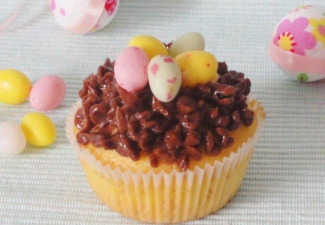 Cupcake nid de Pâques