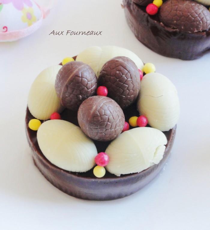 dessert de paques au chocolat