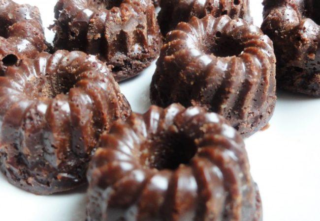 Mini cannelés version au chocolat