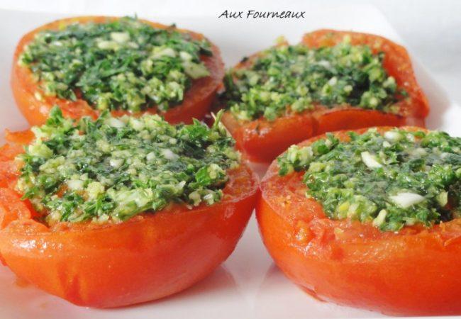Tomates à la provençale traditionnelles