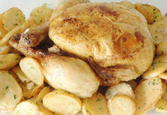 Poulet cuit à basse température