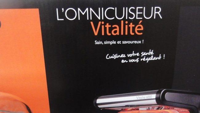 L'omnicuiseur Vitalité V6000 dans ma cuisine!