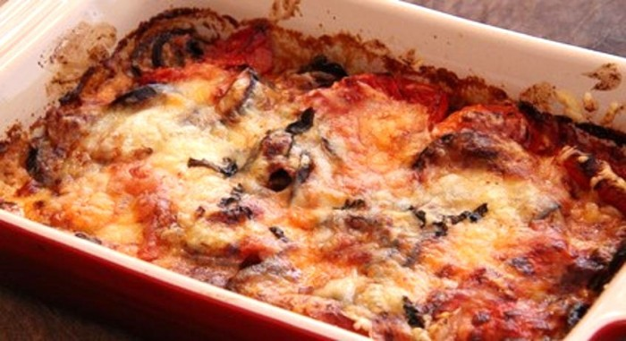 Gratin d aubergines a l italienne