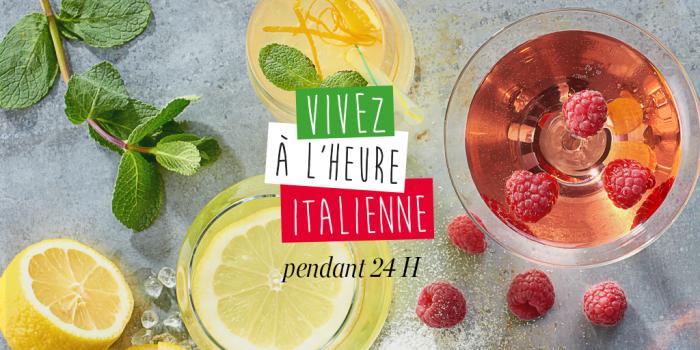 Vivre a l heure l italienne avec Carrefour