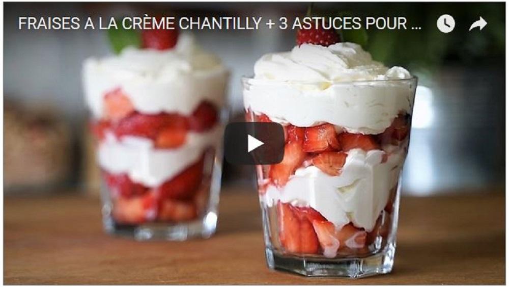 crème Chantilly La réussir ou la rattraper