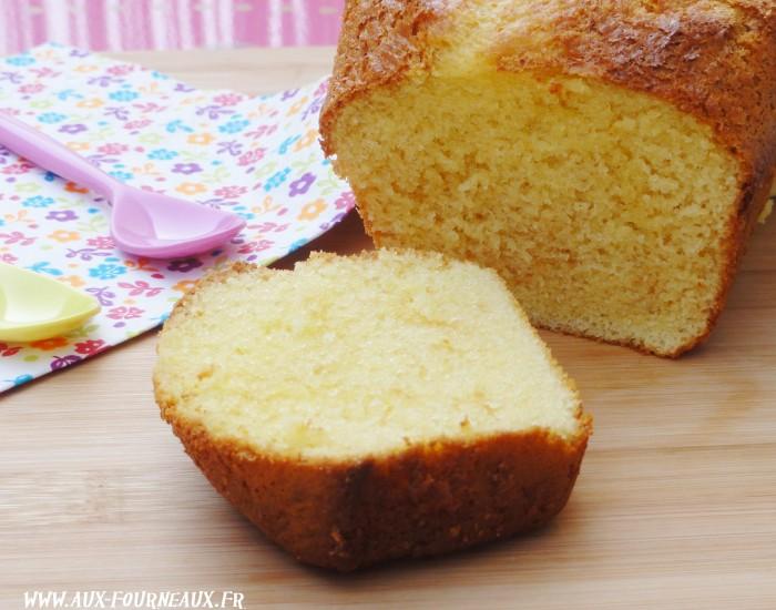 Cake au lait concentre sucré