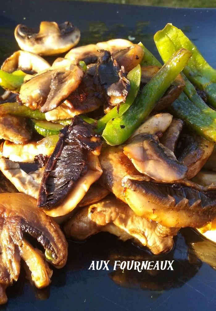 Legumes grille a la plancha