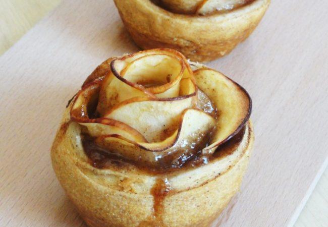 Comment faire une rose feuilletée aux pommes ?