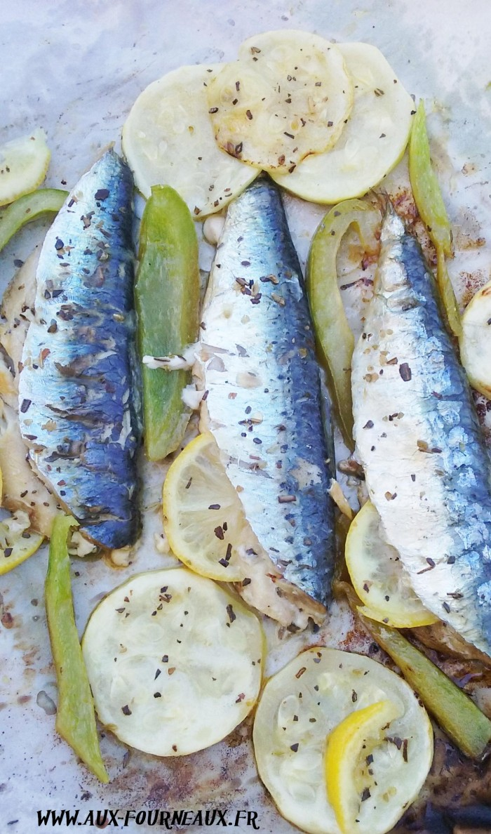 Sardine marinee au barbecue