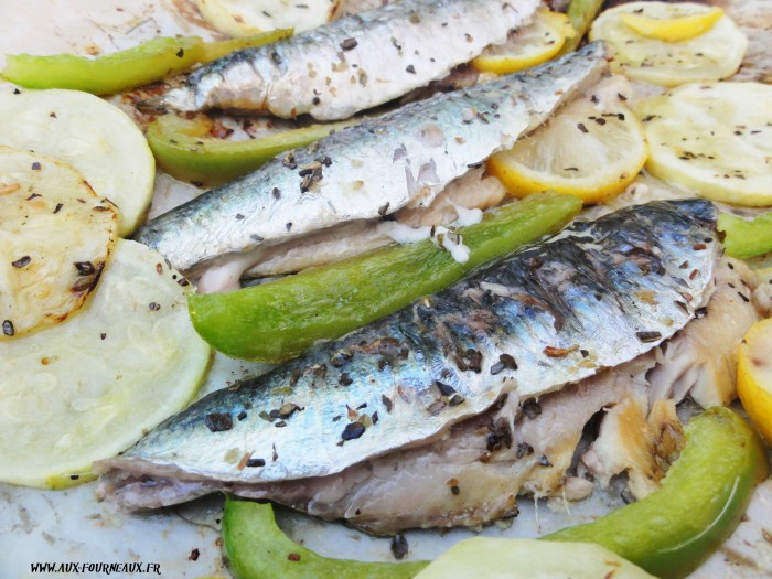 Sardine marinees au barbecue