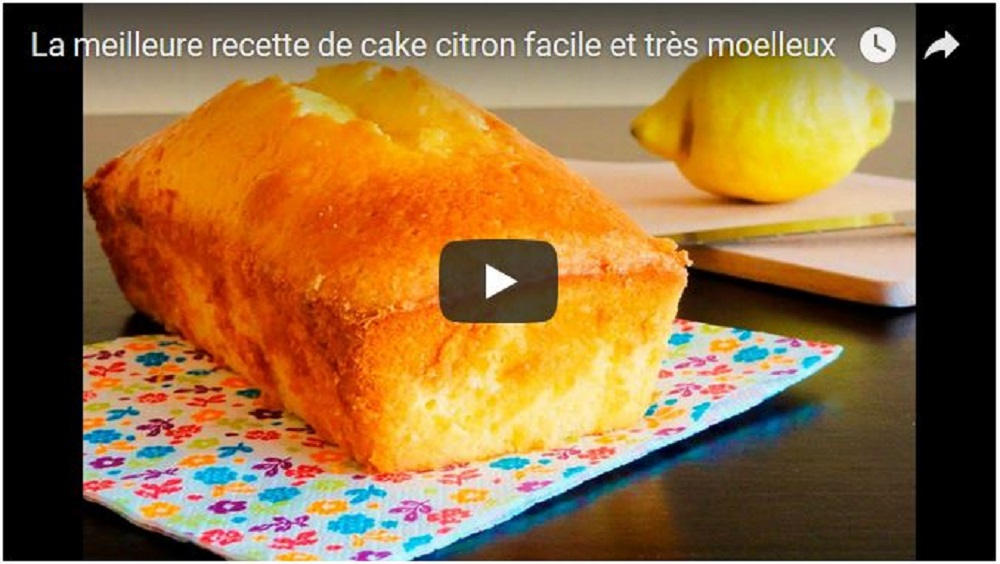 meilleur cake au citron