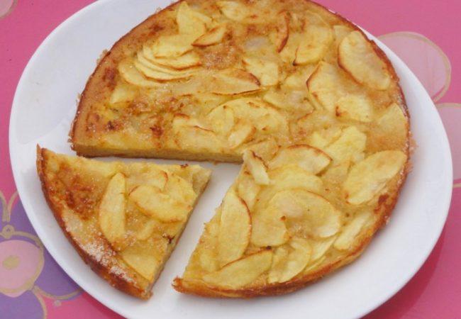 Gâteau invisible pomme poire