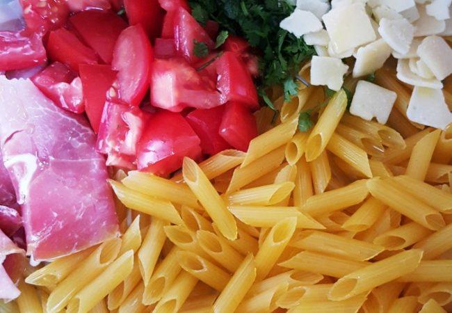One pan pasta, une recette de pâtes minute