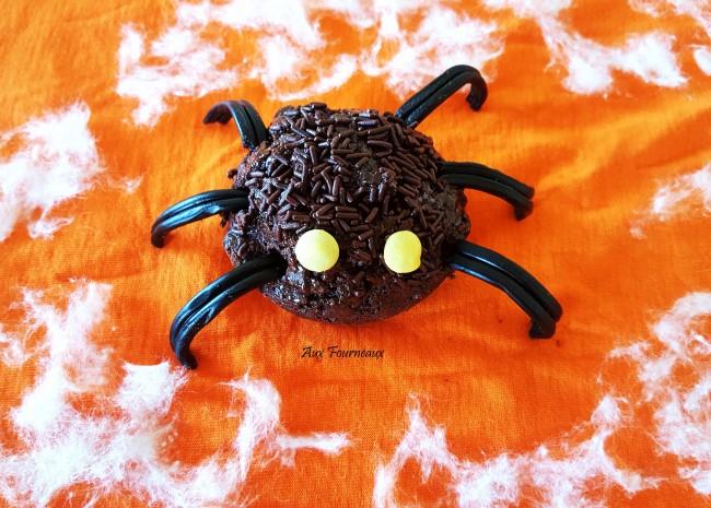 muffin araignee halloween