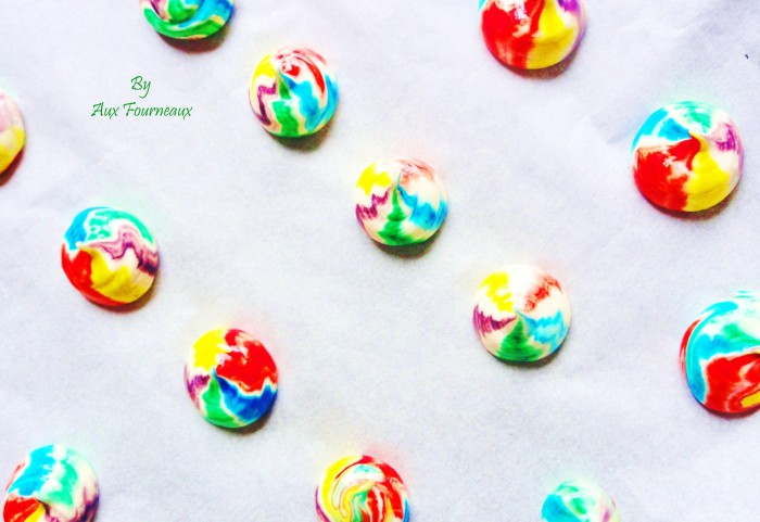Meringues Rainbow