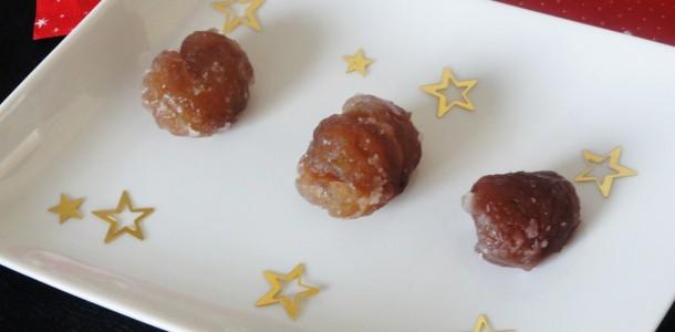 Marrons glac s maison aux fourneaux - Comment cuisiner des marrons en boite ...