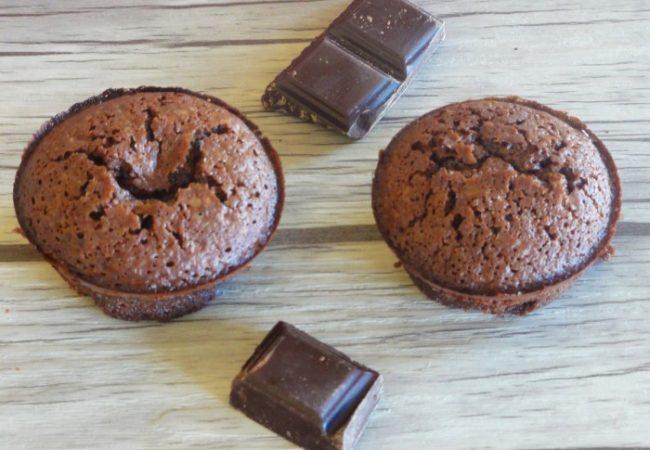 Bouchons fondants au chocolat