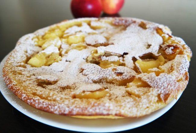 Gâteau aux pommes sans four