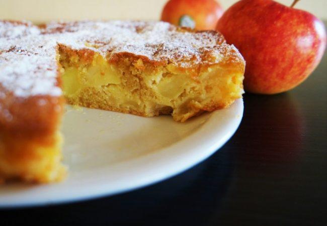 Gâteau madeleine aux pommes Antarès