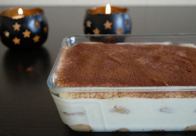 Vrai tiramisu italien traditionnel