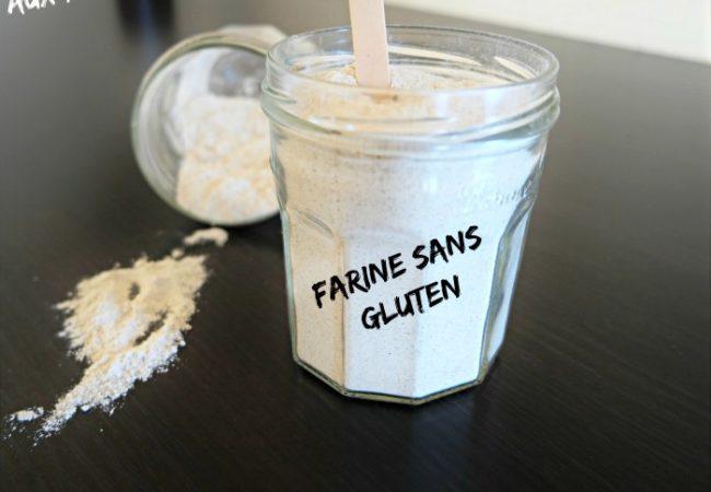 Mix mélange de farines sans gluten pour pâtisserie