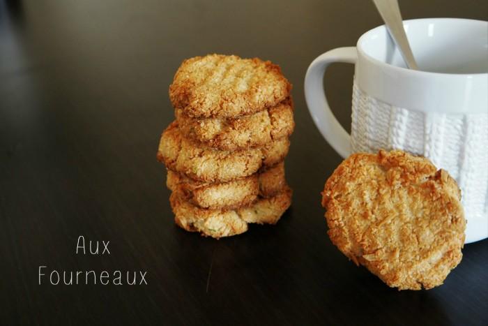 Macarons antillais a la noix de coco