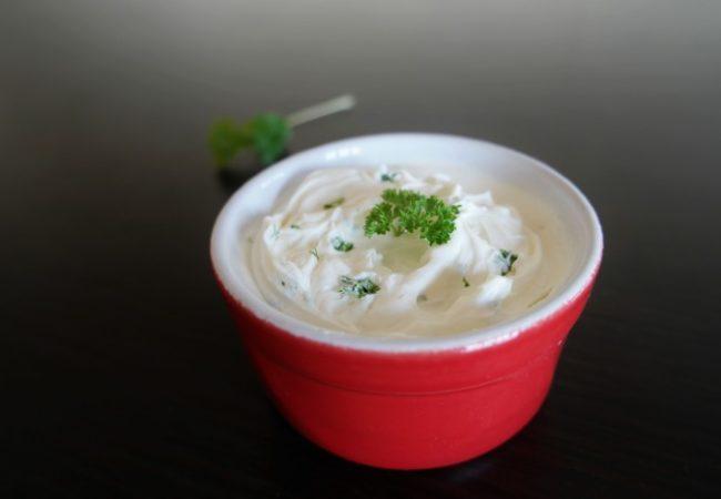 Sauce légère au yaourt pour crudités