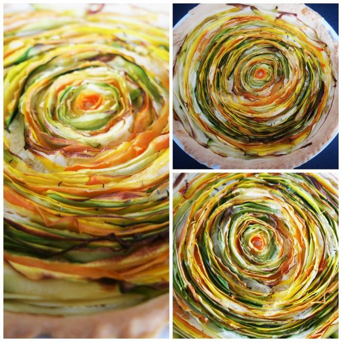 tarte spirale aux legume